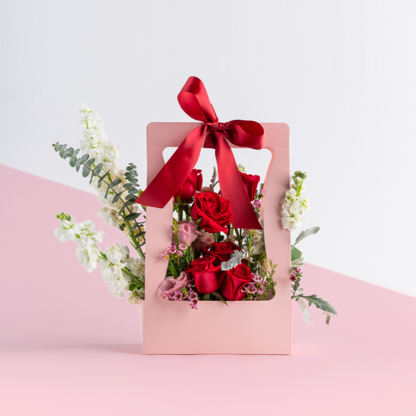 surprise bloom box by one hour florist