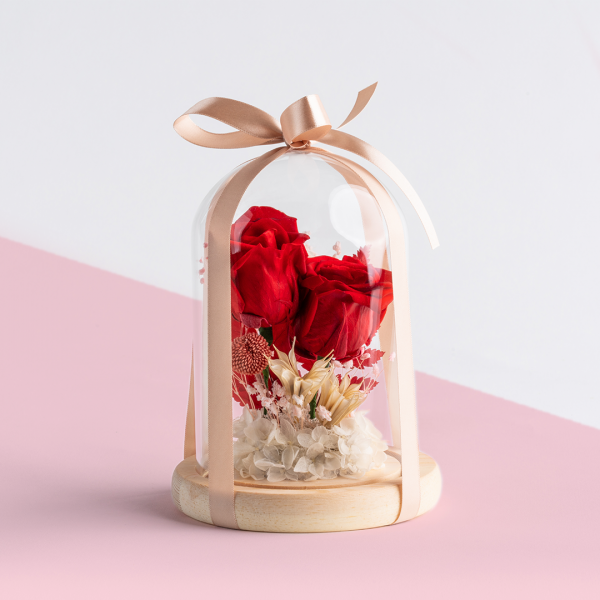 surprise flower dome by one hour florist