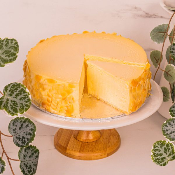 new york cheesecake sliced by one hour florist